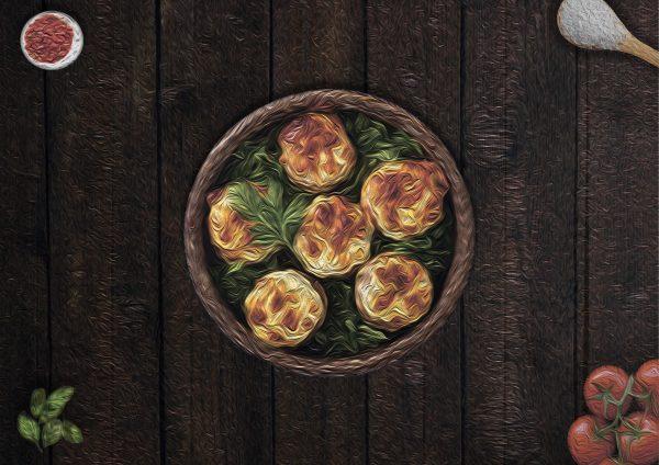 Грибы с сыром сулугугни